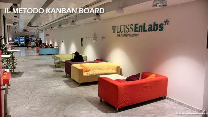 Andrea Millozzi blog | Il metodo Kanban Board: una metodologia AGILE per raggiungere gli obiettivi attraverso la visualizzazione dei processi | Luiss ENLABS - 4