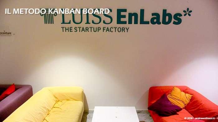 Andrea Millozzi blog | Il metodo Kanban Board: una metodologia AGILE per raggiungere gli obiettivi attraverso la visualizzazione dei processi | Luiss ENLABS - 5