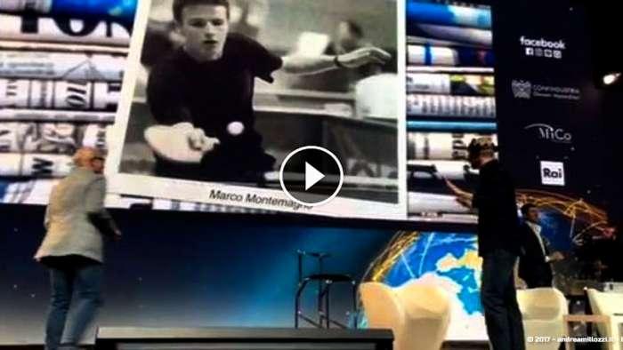 Andrea Millozzi blog | Al FED, Forum dell'Economia Digitale, una foto ha piacevolmente sorpreso me ed eccitato il cervello di Marco Montemagno | il video