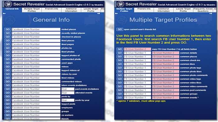 Andrea Millozzi blog | Social Network: si stanno occupando dei tuoi dati personali a tua insaputa, la buona notizia è che proteggere la privacy è facile come installare un'estensione per il browser | Secret Revealer 2