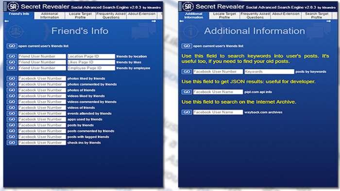 Andrea Millozzi blog | Social Network: si stanno occupando dei tuoi dati personali a tua insaputa, la buona notizia è che proteggere la privacy è facile come installare un'estensione per il browser | Secret Revealer 3