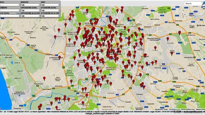 Andrea Millozzi blog | Elettromagnetismo e salute: guarda dove sono ubicate le antenne di telefonia nel tuo comune ed impara a realizzare una mappa fai-da-te partendo dagli Open Data in formato testuale