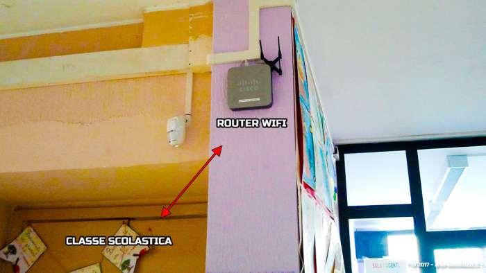 Andrea Millozzi blog | Elettromagnetismo e salute: guarda dove sono ubicate le antenne di telefonia nel tuo comune ed impara a realizzare una mappa fai-da-te partendo dagli Open Data in formato testuale | wifi vicino alla classe
