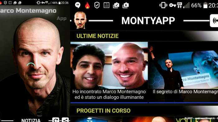 Andrea Millozzi blog | Officina Futuro: con Marco Montemagno negli studi di Repubblica TV per presentargli la mia MontyApp, gli sarà piaciuta? | MontyApp