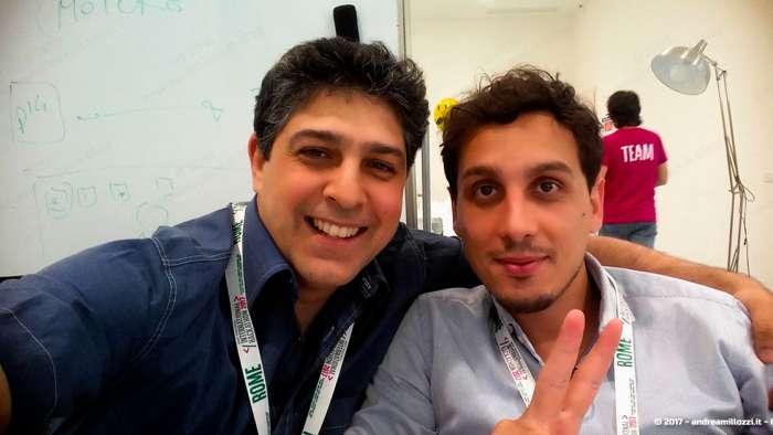 Andrea Millozzi blog | International Hackathon 2017: come nasce una startup innovativa? Ti racconto tutti i retroscena | insieme a Pierpaolo