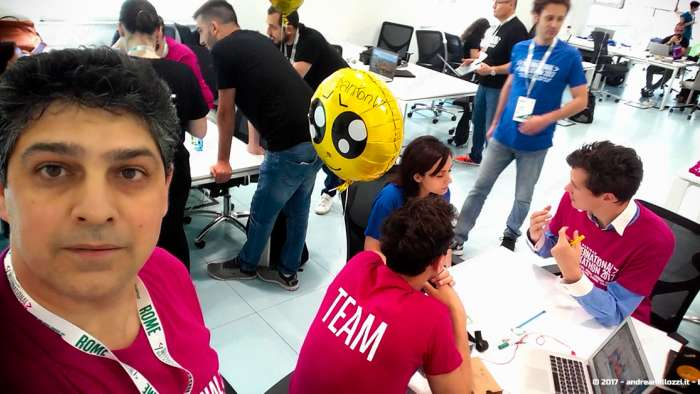 Andrea Millozzi blog | International Hackathon 2017: come nasce una startup innovativa? Ti racconto tutti i retroscena | faccia stanca?