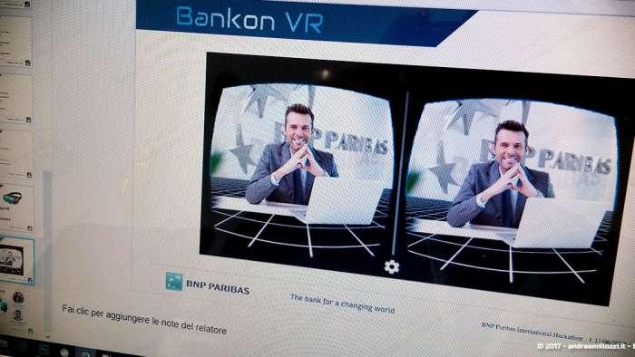Andrea Millozzi blog | International Hackathon 2017: come nasce una startup innovativa? Ti racconto tutti i retroscena | screenshot della VR