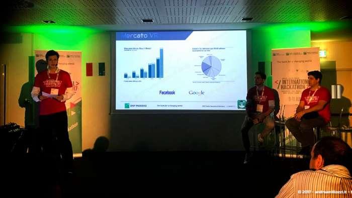Andrea Millozzi blog | International Hackathon 2017: come nasce una startup innovativa? Ti racconto tutti i retroscena | la presentazione di BankonVR