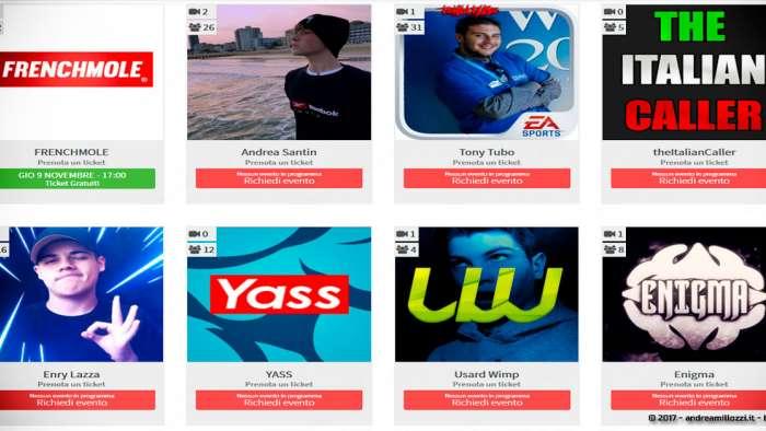 Andrea Millozzi blog | TuberFan: la startup made in Italy che permette ai Fan di videochattare con i loro YouTuber preferiti | gli YouTuber