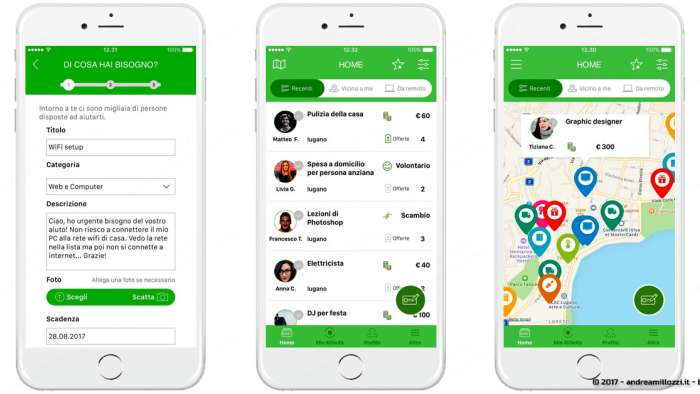 Andrea Millozzi blog | Croqqer App: la B-Corporation che aiuta a far incontrare domanda ed offerta tramite una community dedicata alla risoluzione di piccoli problemi quotidiani | la Croqqer App