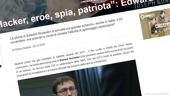 Andrea Millozzi blog | Internet e big data: la difesa della privacy passa per la consapevolezza e per l'uso degli strumenti giusti | Edward Snowden