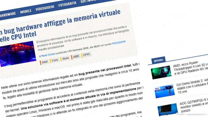 Andrea Millozzi blog | Internet e big data: la difesa della privacy passa per la consapevolezza e per l'uso degli strumenti giusti | SPECTRE e MELTDOWN