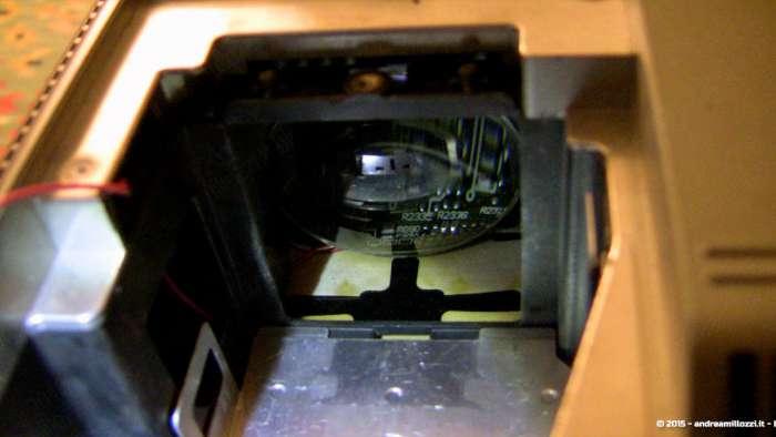 Andrea Millozzi blog - Progetto: modding videoproiettore con lampada LED - come ho posizionato la lente