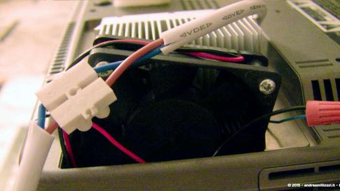 Andrea Millozzi blog - Progetto: modding videoproiettore con lampada LED - ecco come ho assemblato il tutto