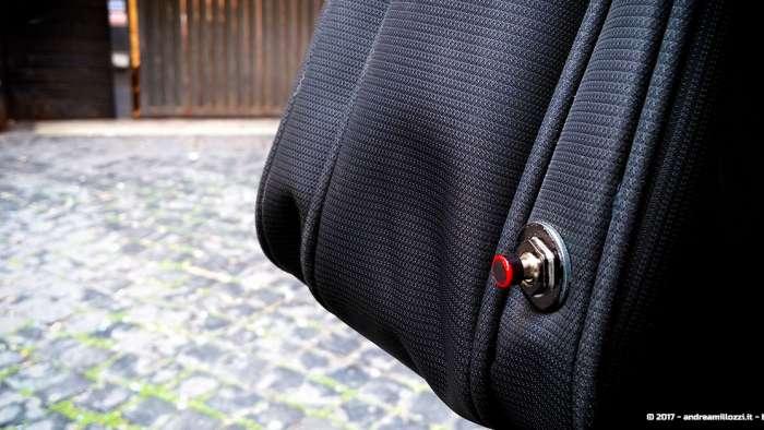 Andrea Millozzi blog | Borsello Geek fai-da-te per motociclisti Nerd | borsello con pulsante!