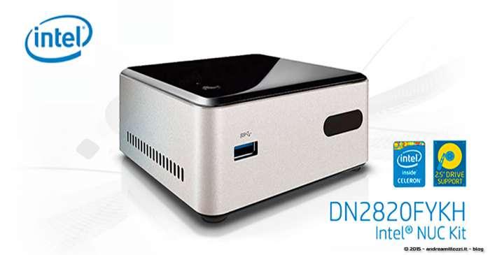 Andrea Millozzi blog - HTPC: cinema in casa con Intel NUC DN2820FYKH