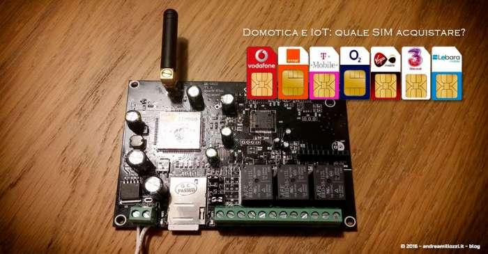 Andrea Millozzi blog | Scheda SIM per antifurto-domotica, telecomando GSM per azionare dispositivi con messaggi di testo SMS e consigli per gli acquisti per fare buoni affari | telecomando GSM SMS