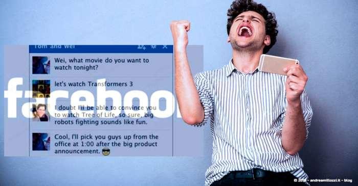 Andrea Millozzi blog | Messenger di Facebook rallenta il tuo smartphone? La soluzione per continuare a chattare anche senza, è semplice e non richiede di dover installare ulteriori App