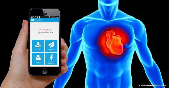 Andrea Millozzi blog - ioSocCORRO: l'App che salva la vita