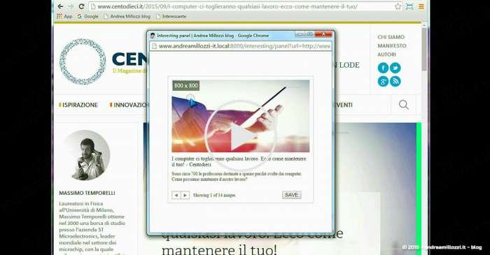 Andrea Millozzi blog - Interesting: un modulo Drupal per condividere al volo sul proprio sito argomenti interessanti