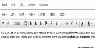 Andrea Millozzi blog | Editor WYSIWYG online gratuito e personalizzabile per scrivere gli articoli del tuo blog