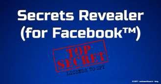 Andrea Millozzi blog | Secrets Revealer (for Facebook™): scopri tutte le informazioni segrete che ti riguardano presenti su Facebook, con questo Add-on gratuito per Firefox e Chrome